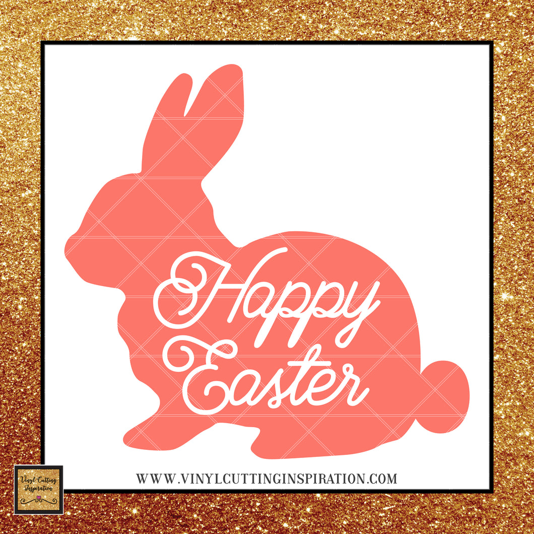 Easter Bunny Svg, Easter Svg, Bunny Svg, Rabbit Svg, Easter Cut Files, Happy Easter Svg, Bunny Dxf, Cricut Cut Files, Silhouette Cut Files - Vinyl Cutting Inspiration