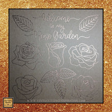 Foil Quill Designs, Foil Quill flower, Rose Quill design, Foil Crafts, Foiling Quill Pen, Rose, Rose Svg, Flower Quill, Rose Drawing, Garden Design, Files for Cricut and Silhouette - Vinyl Cutting Inspiration