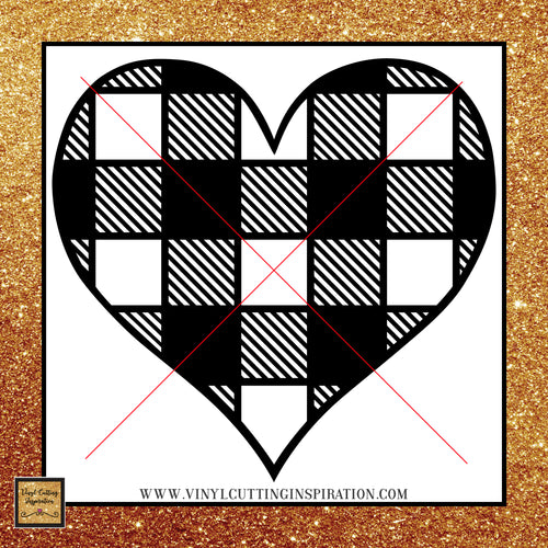 Buffalo Plaid White Heart Svg, Valentine SVG, Happy Valentine's Day Svg, Valentines Day Svg, Valentine Svg, Valentines Svg, Love Svg, Heart Svg, Love Heart Svg, Cutting Files Cricut, Svg Files - Vinyl Cutting Inspiration