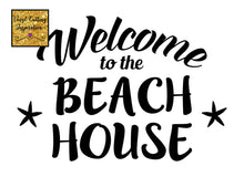 Welcome to the Beach House Svg Cut File, Design # 1008 - SVG, DXF, Vector Cutting Files, cut files, Nautical, starfish, cricut, cameo - Vinyl Cutting Inspiration