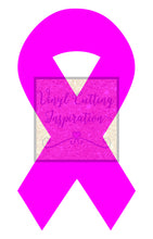 Awareness Ribbon, Breast Cancer, Autism,  Support our Troops, Childhood Depression, VCI Design # 1082 - SVG, DXF, Vector Cutting Files, - Vinyl Cutting Inspiration