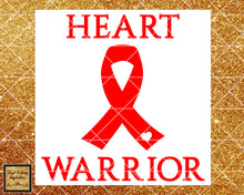 Heart Warrior Svg, Warriors Svg, Awareness Svg, Chd Svg, Chd Warrior Svg, Heart Disease Svg, Heart Defect Svg, Chd Awareness Ribbon Svg, Dxf - Vinyl Cutting Inspiration