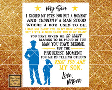 Proud Police Mom, To My Son Svg, To My Son DXF, Police SVG,  Svg images, Svg File, Gift from Mom, Gift for Son, Thin Blue Line SVG, Dxf, boy - Vinyl Cutting Inspiration
