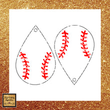 Teardrop Svg, Earrings Svg, Baseball Svg, Svg Cut file, Softball Svg, Leather Earrings, Baseball, Teardrop, Teardrop Baseball, Svg Files - Vinyl Cutting Inspiration