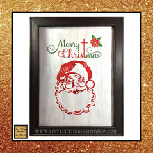 Vintage Santa Svg, Santa Svg, Santa Face Svg, Santa Claus Svg, Christmas Svg, Christmas Cutting Files, Santa Baby, Svg Images, Svg Files for Christmas - Vinyl Cutting Inspiration