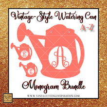 Watering Can SVG, Monogram Bundle, Spring Svg, Spring Sign, Spring Svg Files, Sign Svg, gardening Svg, Garden Svg - Vinyl Cutting Inspiration