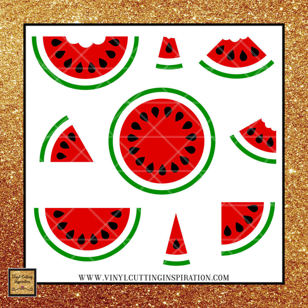 Watermelon SVG, Watermelon SVG Bundle, Watermelon Cricut, Watermelon Cut File, Summer Svg, Watermelon Svg Files for Cricut and Silhoutte, Svg Cutting Files, Svg Files, Svg Images - Vinyl Cutting Inspiration