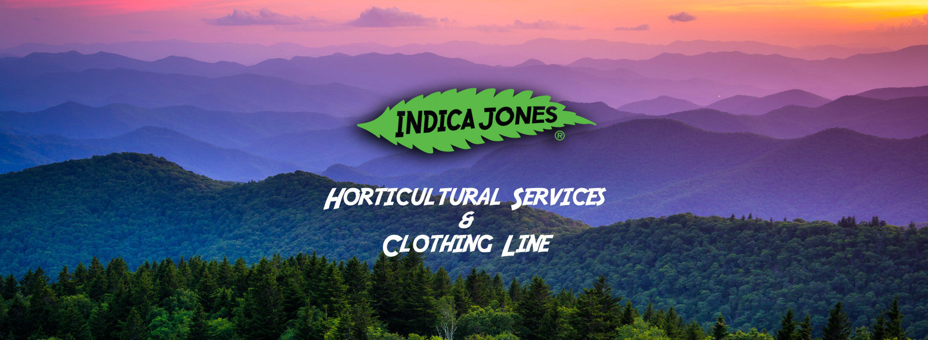 Indica Jones Horticultural Services and Clothing Line