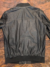 EMBOSSED CROCODILE LAMBSKIN JACKET