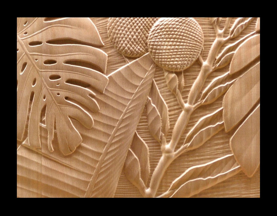 Kauai Carved Cabinet Doors