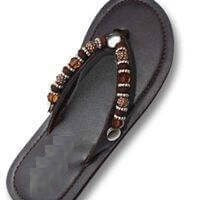 """BROWN SUGAR""  - INTERCHANGEABLE WOMEN'S SANDAL SNAP"