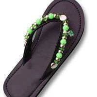 """LUCK O' THE IRISH""  - INTERCHANGEABLE SANDAL SNAP"