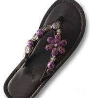 """ORCHID""  - INTERCHANGEABLE WOMEN'S SANDAL SNAP"