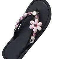 """PEARL PINK""  - INTERCHANGEABLE WOMEN'S SANDAL SNAP"