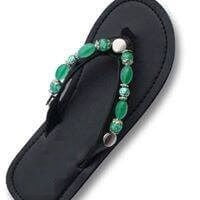 """SPRING GREEN""  - INTERCHANGEABLE SANDAL SNAP"