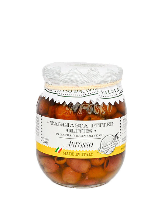 Ligurian Pitted Olives in Extra Virgin Olive Oil 280g