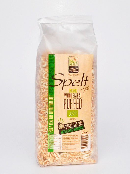 Spelt Puffed Cereal  125g