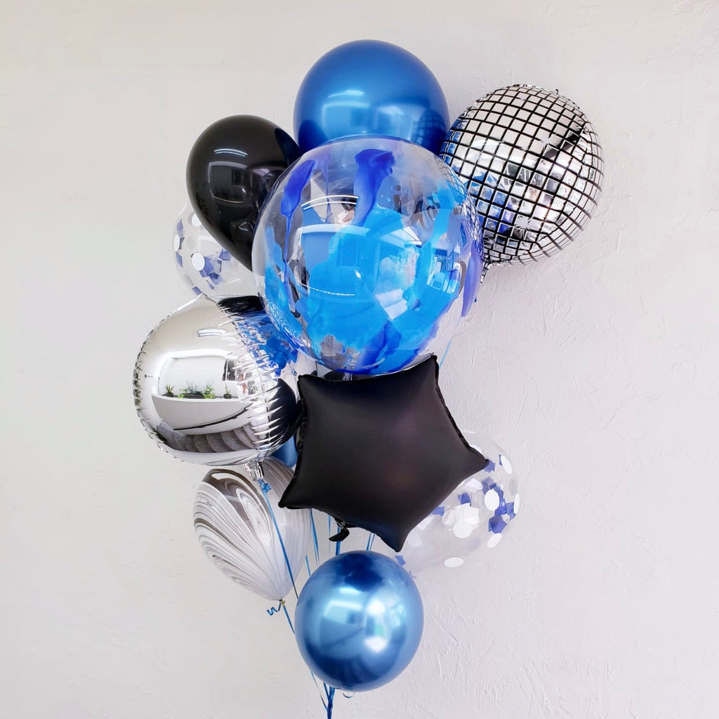Bouquet GALAXIA DISCO BALL (con helio +$595)