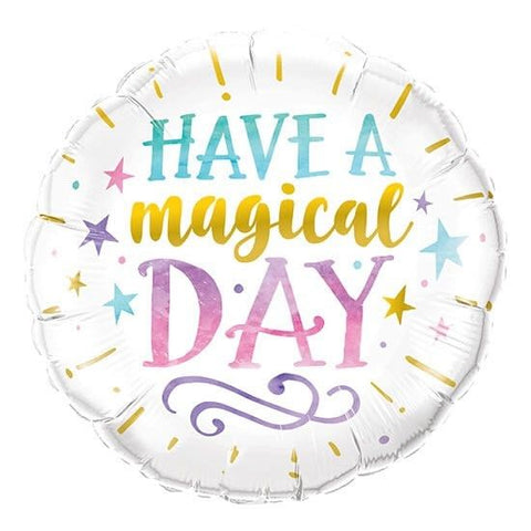 "Globo ""Have a Magical Day"" (45 cm) (con helio + $40)"