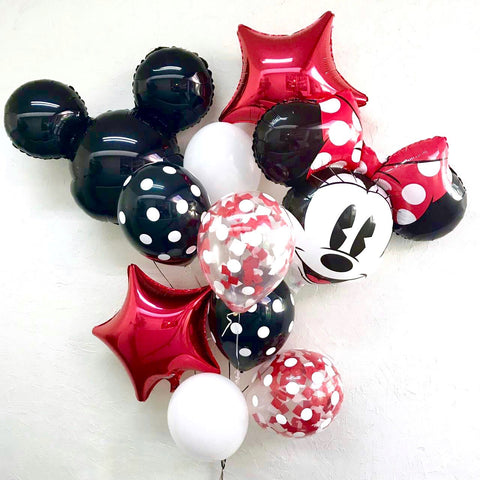 Bouquet Minnie y Mickey Mouse (Con helio +$549)