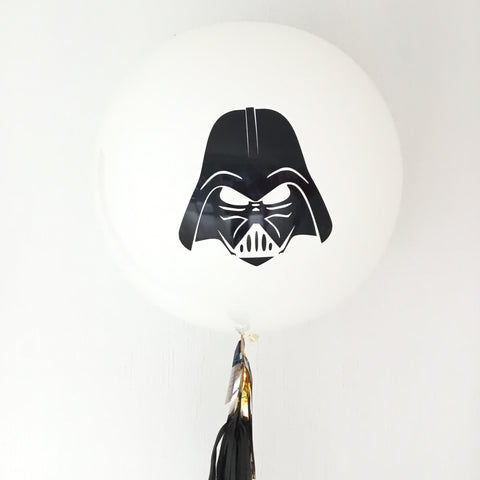 "Gigante BLANCO ""Darth Vader"" Star Wars (90 cm)"