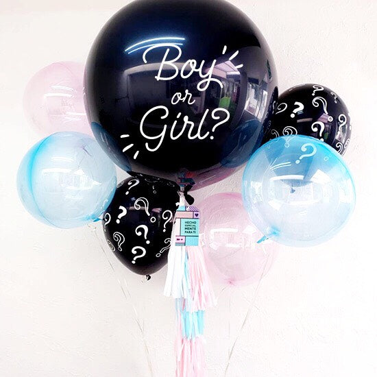 "Bouquet ""Boy or Girl?"" (con helio +$570)"