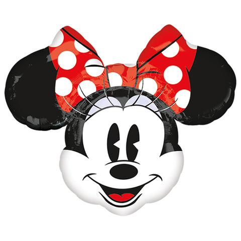 Globo Minnie Mouse Retro (70x80 cm) (Con helio +$95)