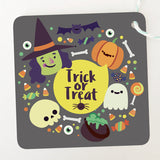 "Etiquetas Halloween ""Trick or Treat"" (24 piezas)"