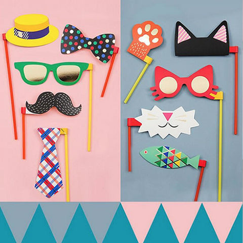Props para photo booth fiesta infantil