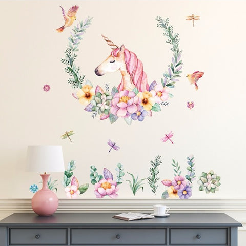 Estampas decorativas de Unicornios para pared