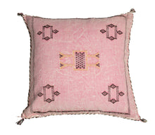 Sabra Cactus Silk Pillow
