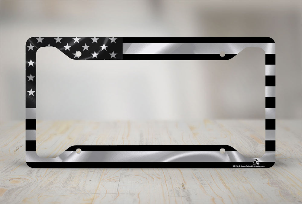 American FlagLicense Plate Frames