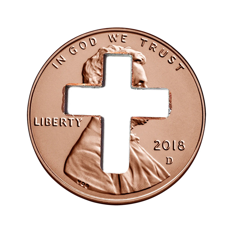 2018 Cross Pennies from Heaven Cross Penny for Christians