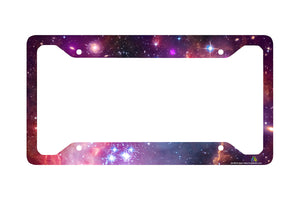 Airstrike® Space Galaxy License Plate Frame 30-750