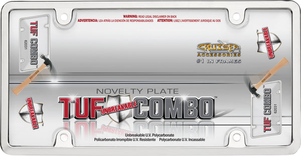 Tuf Combo Kit - Chrome/Clear