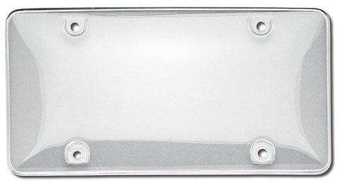 Clear UV Acrylic Bubble Shield Protective License Plate Covers