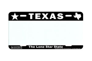 Airstrike® Texas License Plates TX Custom State License Plate-742