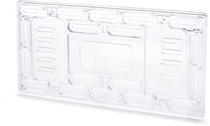 Universal License Plate Mount, Clear