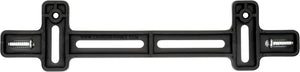License Plate Bracket, Black
