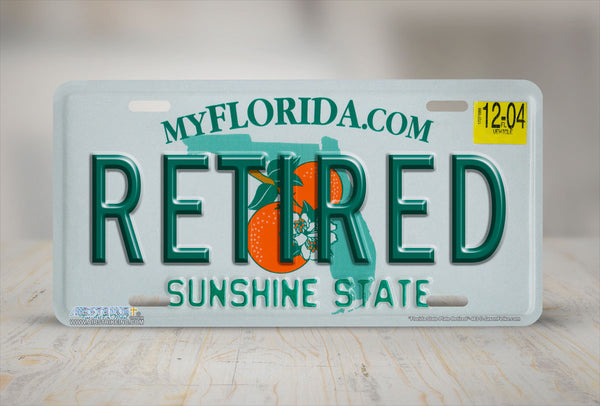 Airstrike 174 483 Quot Florida State Plate
