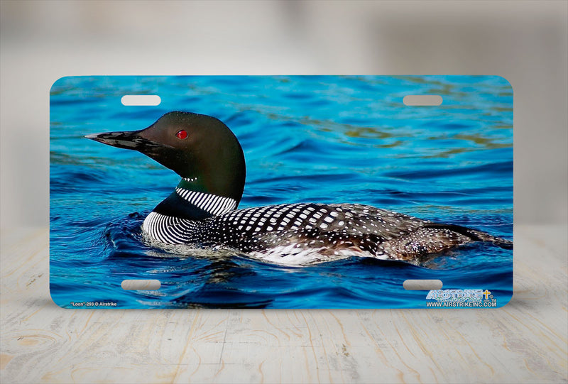 "Airstrike® 293-""Loon"" Duck License Plates"