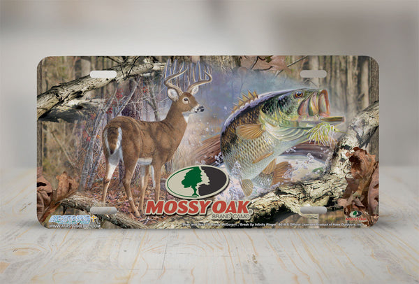 Airstrike® Mossy Oak License Plate 8018-