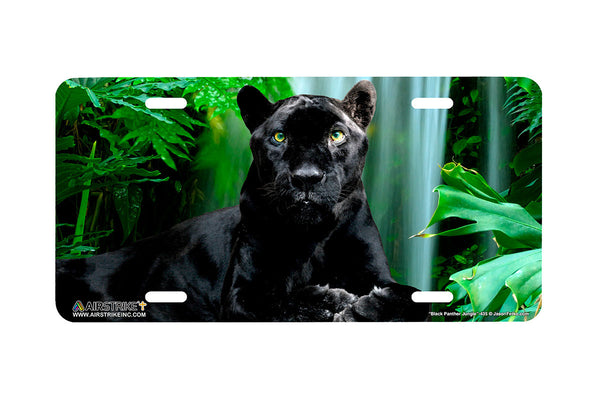 "Airstrike® 435-""Black Panther"" License Plates"