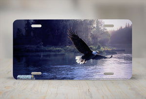 "Airstrike® 8235-""Forever Free""- Eagle License Plate"