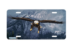 "Airstrike® 8319-""American Icon""-Eagle License Plate"