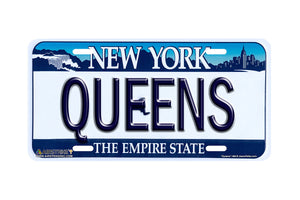 Airstrike® New York License Plates Queens New York State License Plate-486