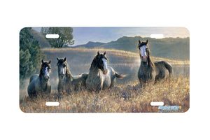 "Airstrike® 6502-""Amazing Greys III"" Horse License Plates"