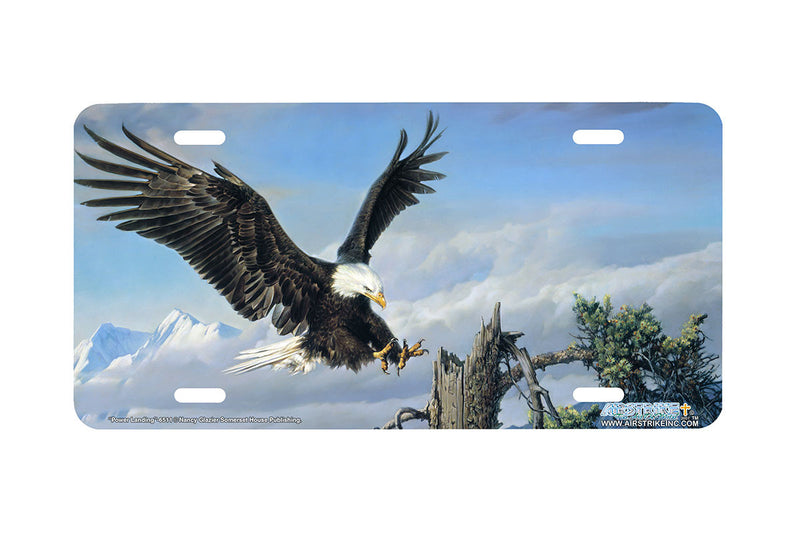 "Airstrike® 6511-""Power Landing"" Eagle License Plate"
