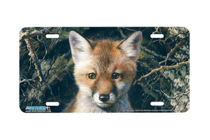 "Airstrike® Fox License Plate 3150-""Just Shy of Sly"" License Plate"