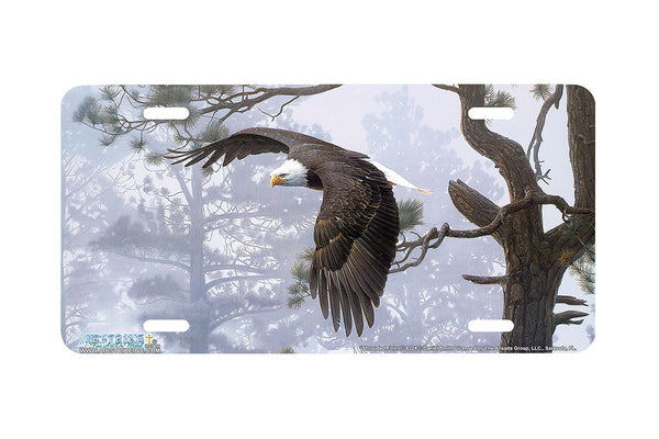 "Airstrike® 8224-""Shrouded Forest""-Eagle License Plate"